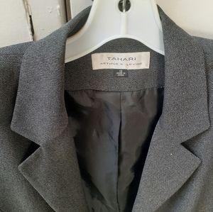 Women Tahari Tweed Blazer Jacket 12 Button 3
